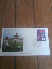 france timbre sport foot 98 Enveloppe  coupe du monde de football 1998 Toulouse