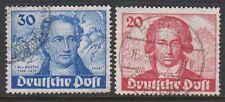 Germany Berlin 1949 Goethe 20pf & 30pf Fine Used SG B62/3 C/V £160