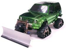 Aluminum rc Snow Plow set for TAMIYA CC-01 pajero Jeep Wrangler  ISUZU MU