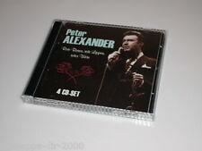 PETER ALEXANDER ROTE ROSEN ROTE LIPPEN ROTER WEIN 4 CD SET DEUTSCH SCHLAGER