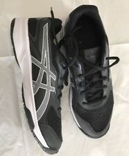 Asics Mens Size 8 Upcourt Black White Athletic Volleyball Shoes