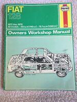 1972-1979 Haynes Fiat 128 shop repair service wiring manual