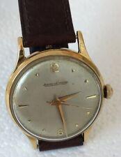18K Gold Jaeger Le Coultre P800/C Sweep Sec Screw Back Wristwatch BIN$1100