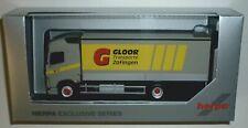 Herpa 937726 Volvo FH Globetrotter 2-achs Planen-LKW Gloor Transporte (CH) 1:87