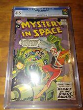 Mystery in Space #53 CGC 4.5 Adam Strange 1959