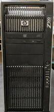 HP Z800 (Watercooled 2x Xeon X5675 3.06GHz, 96GB RAM, 2x 256GB SSD & 2x 2TB HDD)