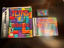 Tetris Worlds GBA Box Game and Manual!