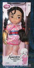 "Disney Animators' Collection 16"" Toddler Doll Mulan Series 3 New!"