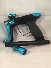 Used DLX Luxe Ice Paintball Marker Black And Blue Shoots Great