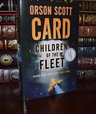 Children of the Fleet Signed by Orson Scott Card New Hardcover 1st Edition Print