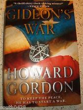 Gideon's War by Howard Gordon (2011, Hardcover)