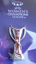 PIN + Champions League Pokal Frauen + 3D Optik + VfL Wolfsburg Sieger 2014 + NEU
