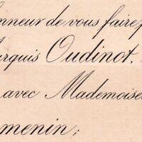 Charles Oudinot De Reggio Suzanne Delahaye De Cormenin 1879
