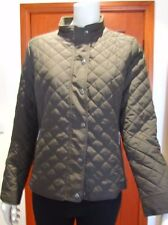 SPORTSCRAFT Vera Quilted Short Jacket Size 14 khaki in colour with tag