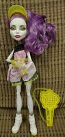 Monster High Doll Spectra Ghoul Sports w/Accessories Tennis Mattel Rare Original