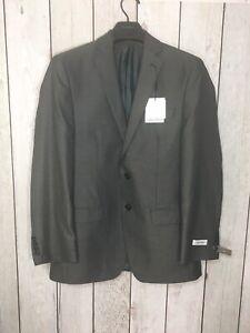 Calvin Klein Mens Slim Fit Size 38 Regular Suit Jacket Charcoal Style MLKA2 $269