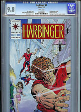 Harbinger Issue #2 CGC 9.8 With Coupon 1992 Valiant Comics Amricons K18