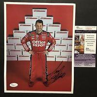 Autographed/Signed TONY STEWART Office Depot NASCAR 8x10 Photo JSA COA Auto