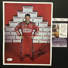 Autographed/Signed TONY STEWART Office Depot NASCAR 8x10 Photo JSA COA Auto