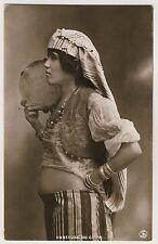 Egypt Belly Dancer/ventre ballerina * VINTAGE 20s ethnic Photo PC by Reiser