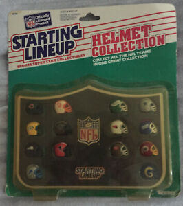 1989 Starting Lineup SLU NFC Helmet Collection Defense SUPER RARE