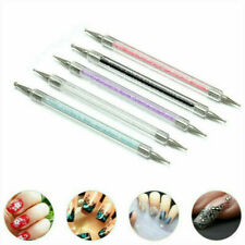 5Pcs 2-Ways Nail Art Dotting Dot Pen Marbleizing Manicure Tools DIY Mix Tips Set