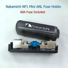Nakamichi NF1 Mini ANL MIDI AFS Fuse Holder Suit 4GA 8GA Cable + 60A Fuse #gtc
