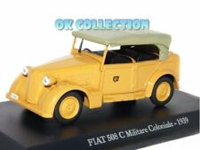 1:43 FIAT 508 C MILITARE COLONIALE - (1939) + COPERCHIO BOX RIGIDO