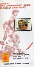España Campeonato del Mundo Hockey Sobre Patines año 1988 (DN-393)
