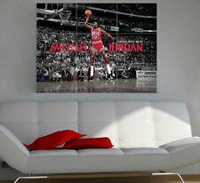 Michael Jordan Giant  Section Wall Art Poster 260gsm