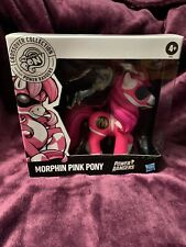 My Little Pony MLP x Power Rangers Crossover Collection Morphin Pink Pony New