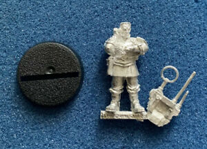 40K - ASTRA MILITARUM - IMPERIAL GUARD - OFFICER - COMMS VOX - METAL - NEW (E)