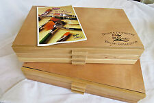 DONNA DEWBERRY 66 NEW BRUSHES ONE STROKE WOOD BOX BRUSH COLLECTION & GUIDE