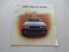 Original 1980 Toyota Celica cars advertising booklet