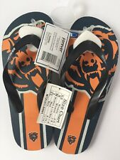 CHICAGO BEARS FLIP FLOPS BY  FOREVER COLLECTIBLES (XS) WOMEN 5-6