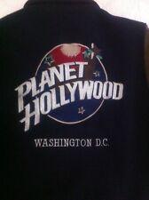 Planet Hollywood Washington DC  Wool Leather Bomber Sz. M STORMIN' NORMAN (GC5