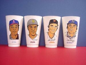 1973 Angels Vada Pinson  7-11 Slurpee  Cup - FLASH SALE