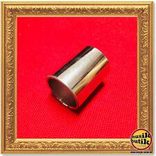 Dunlop 221 Chrome Steel Slide - Knuckle, Medium Wall, 19 x 22 x 28 mm