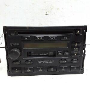 00 2000 Mazda 626 AM FM Bose CD cassette player OEM GG2F 66 9T0