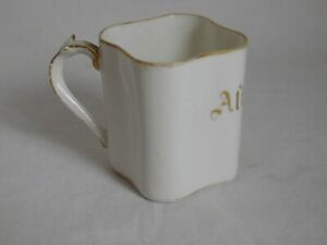 William & Guérin Cup Coffee Numbered Aline Porcelain Limoges 1891/1927