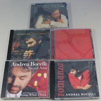 Andrea Bocelli 5 CD's Sogno, Amore, Aria, Romanza & Sacred Arias