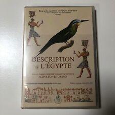 RARE Description de l'Égypte Napoléon Le Grand Vol.1 Version numérique