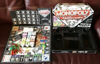 Hasbro monopoly millionaire board game Lovely condition 100% complete