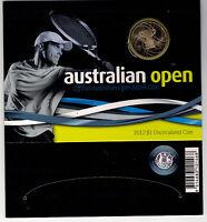 2012 RAM $1 UNC Australian Mens Open - in cardboard presentation stand
