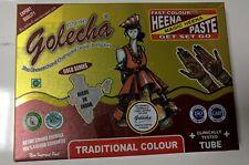 10 HENNA MEHNDI CONES BROWN - NO HARMFUL CHEMICALS 100% NATURAL & SAFE