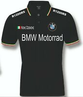 POLO UOMO BMW R1200RS mens woman unisex S M L XL XXL personalizzato