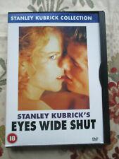 EYES WIDE SHUT 1999 FILM DIRECTED BY STANLEY KUBRICK STARRING TOM CRUISE DVD R2