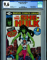 The Savage She Hulk  #1 CGC 9.6 NM+ 1980 Marvel Comics Amricons K15