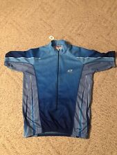 Bellwether Technical Apparel Cycling Jacket Mens Size Large Blue 3/4 Zip
