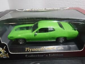 Road Signature 1/43 scale 1971 Plymouth GTX Green